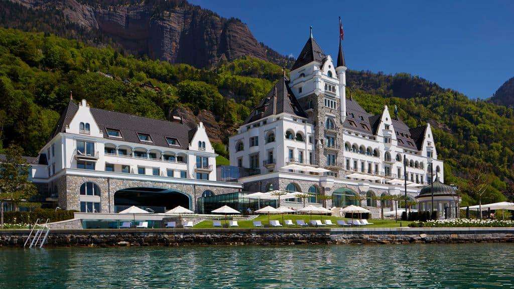 Wonderful and Romantic Hotel Located in Monte Rigi, Switzerland