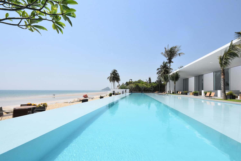 Stunning Seaside Villa in Hua Bin Beach, Thailand Designed by Shinichi Ogawa & Associates