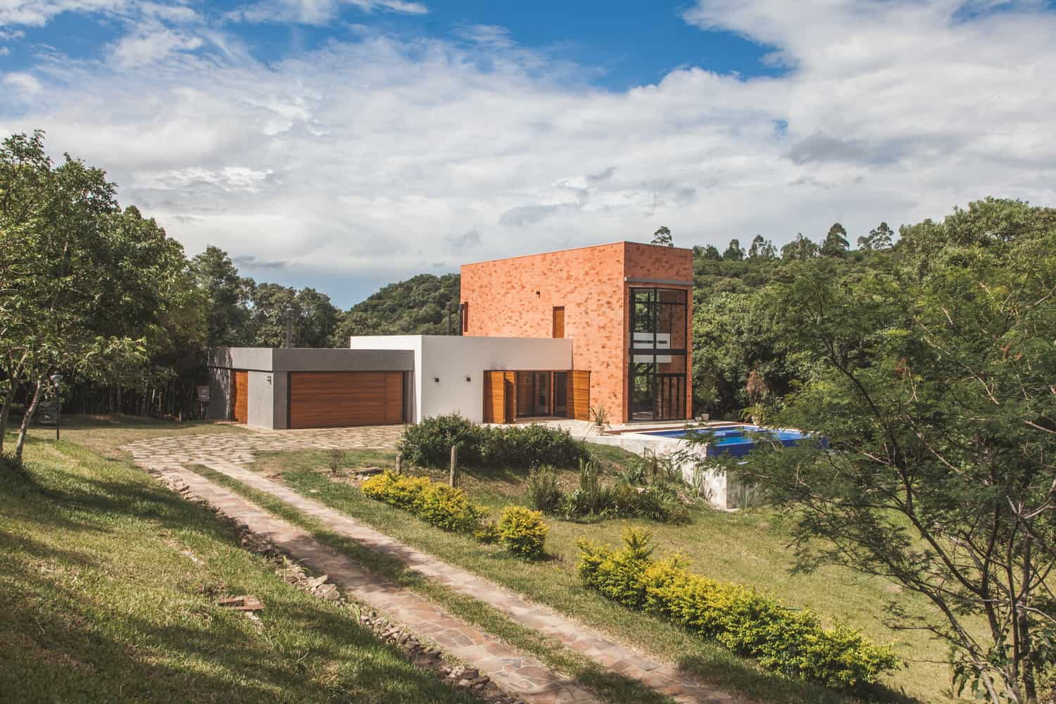 Private Home designed by Q_arts Arquitetura in Itaara, Rio Grande do Sul, Brazil