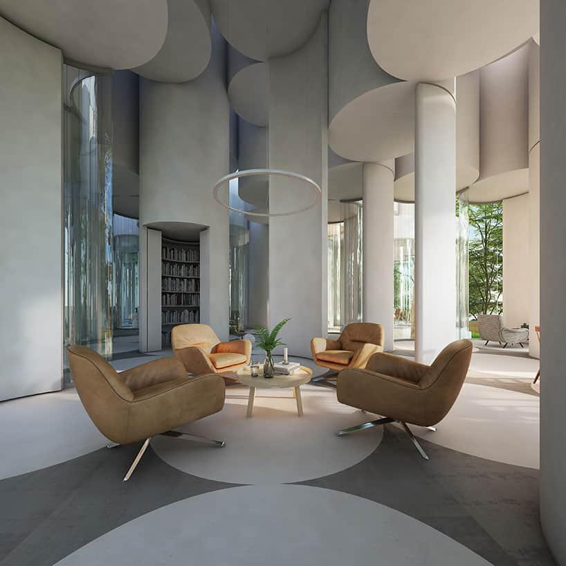 Home designed by Cyril Lancelin in Lyon, France