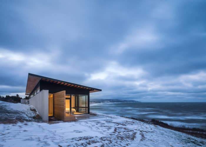 House in a Coastal Zone of Canada Designed by Omar Gandhi Architect