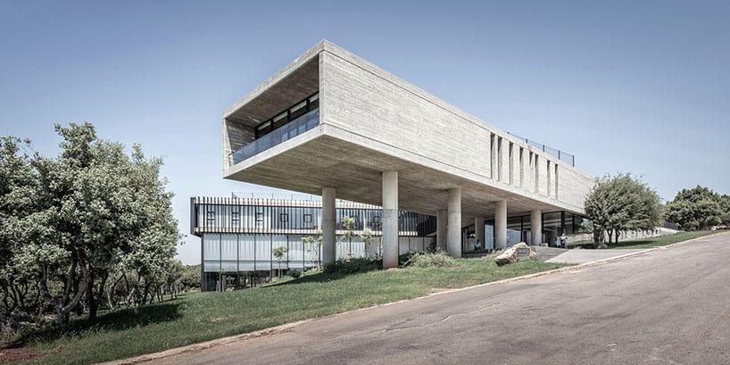Arab Studies Center designed by Fouad Samara in Lebanon
