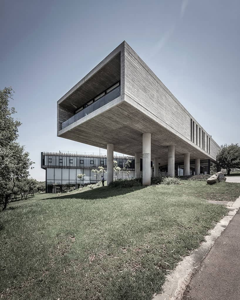 Arab Studies Center designed by Fouad Samara in Lebanon