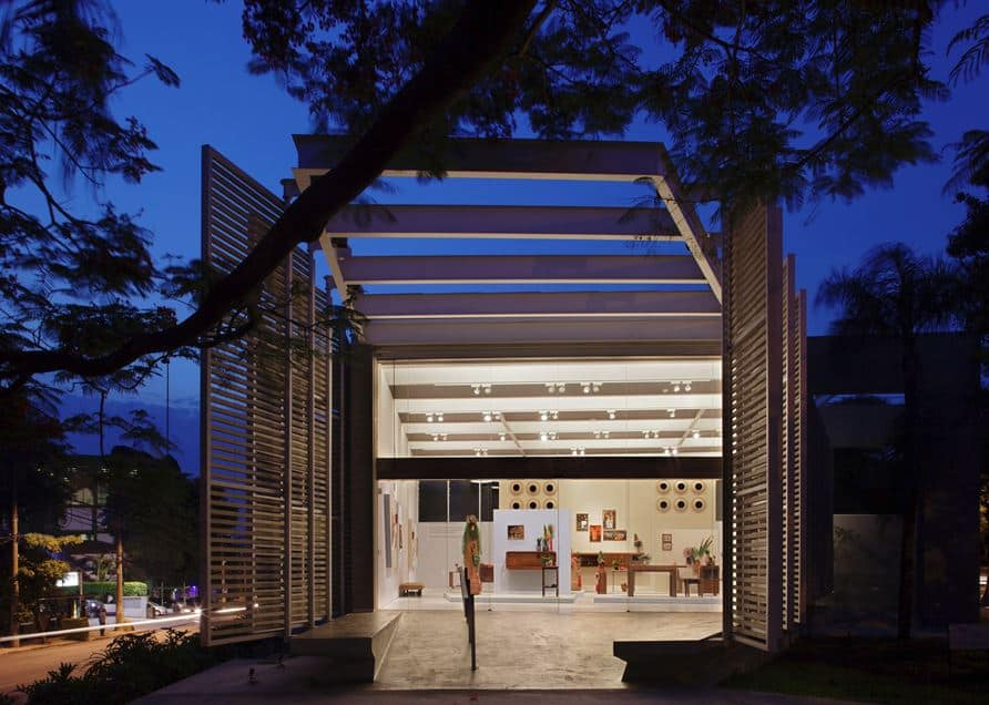 Museu Designed to Serve as the Home for this Non Profit Organization in São Paulo, Brazil