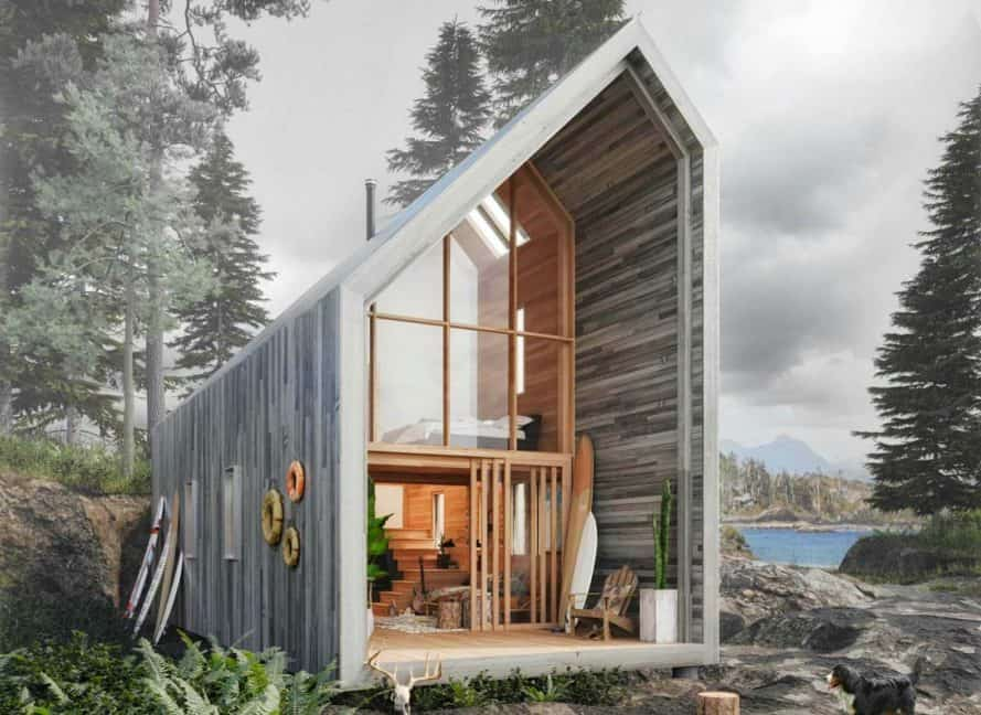 Practical, Functional and Low Ecological Impact Refuge for Nature Lovers