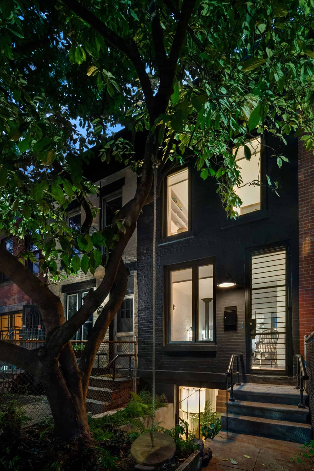Remodeling and Expansion of a Narrow Home Located in Brooklyn, New York
