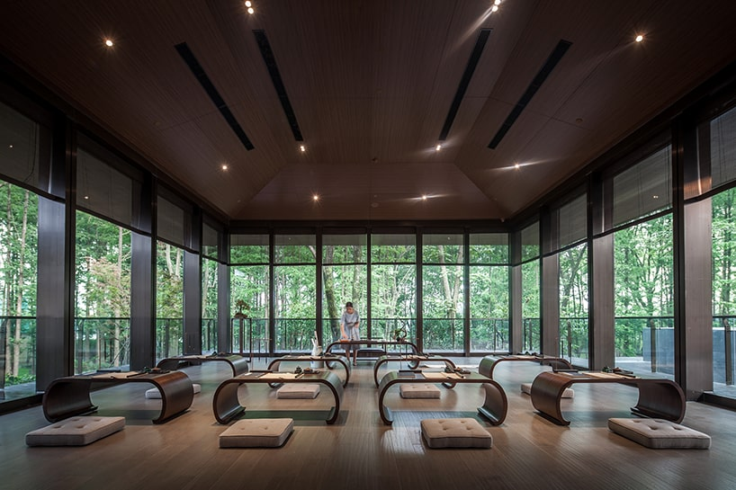 Serene and Relaxing Tea House on the Outskirts of Nanjing, China