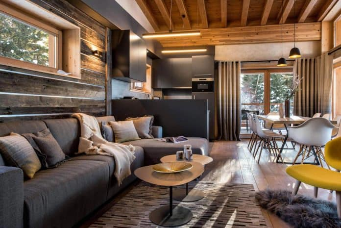 e9619f88f7a Cozy and Luxurious Mountain Apartments with High Quality Designs in Les  Arcs, France