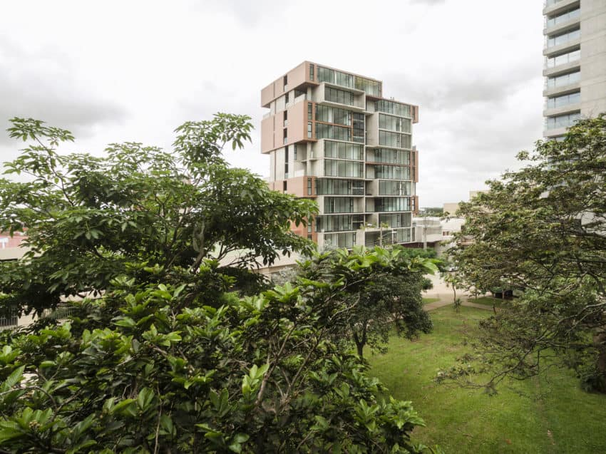 A Unique Apartment Building Located In San Jose Costa Rica