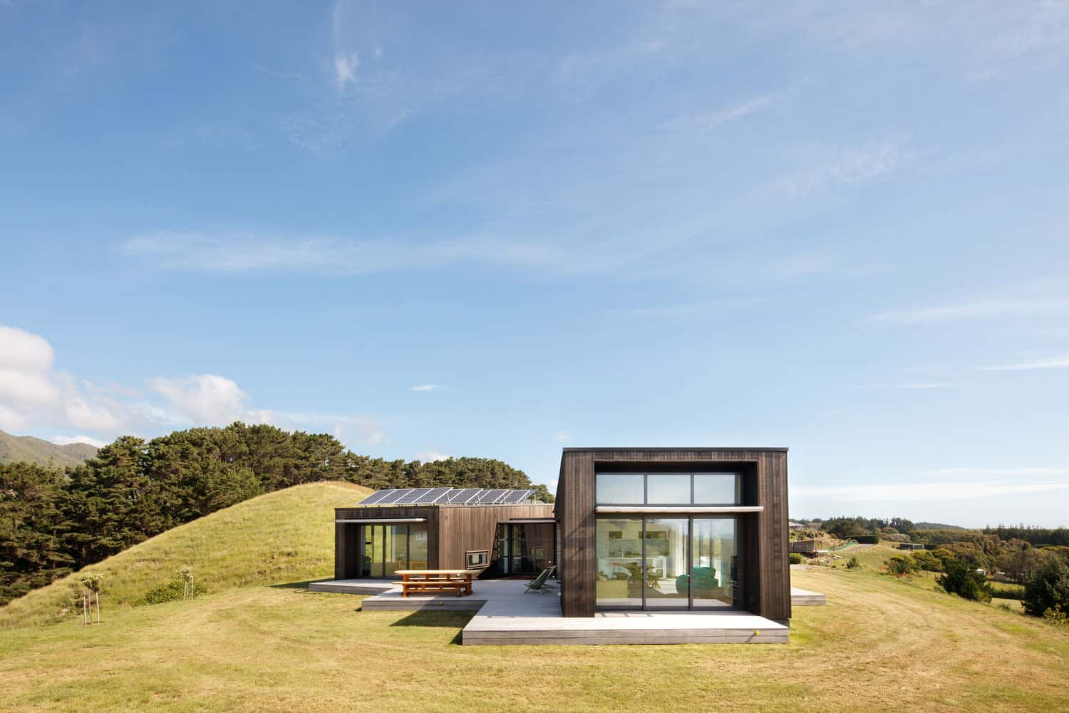 Located on Top of a Hill in Peka Peka, New Zealand, this Wonderful ...