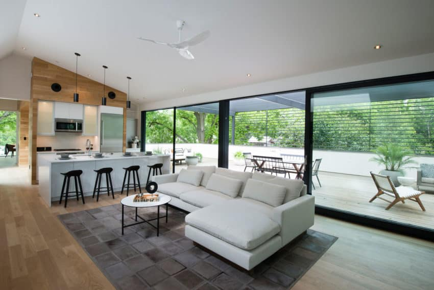 Modern And Functional House Which Doubles As A Car Collectors