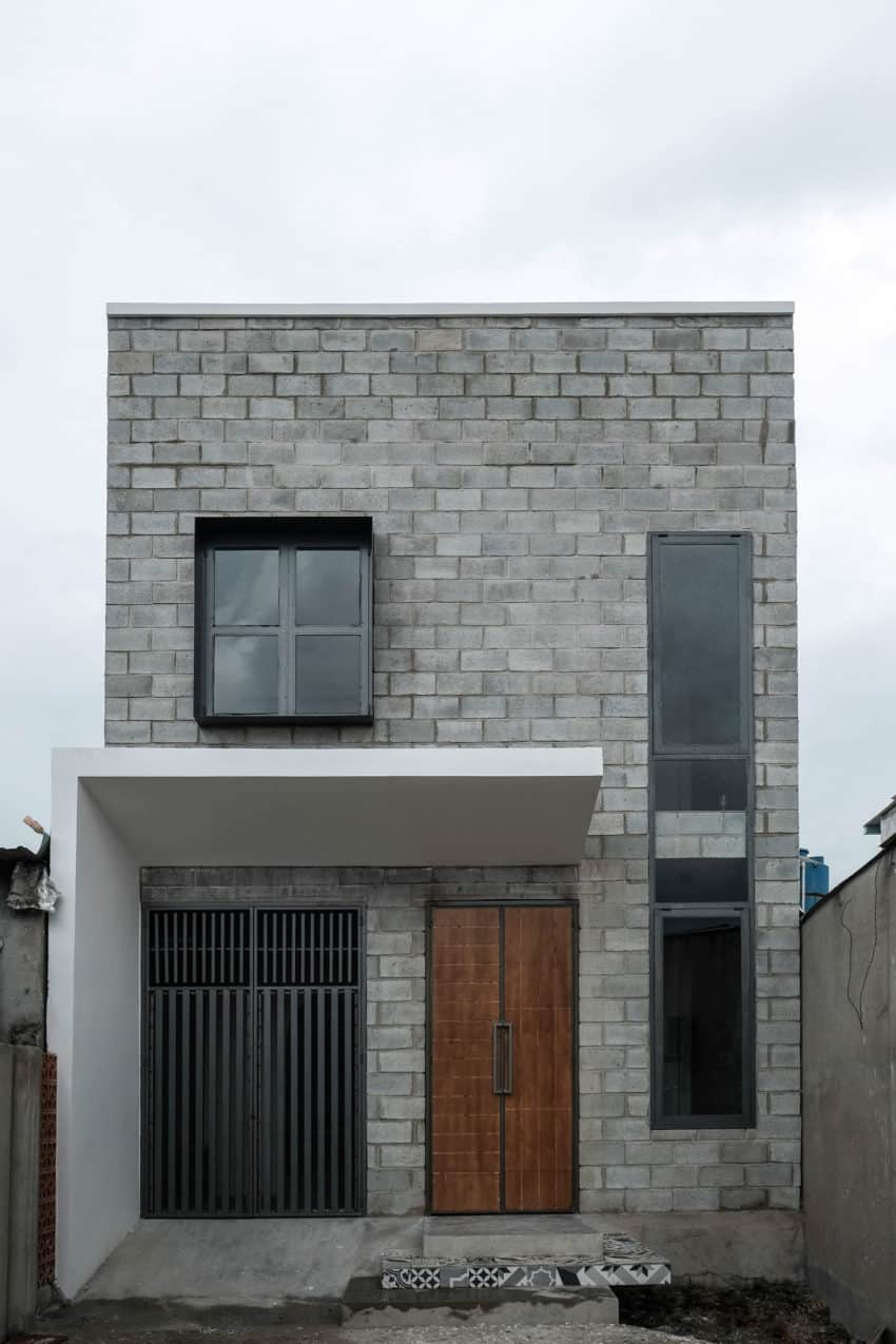 Simple House Designed For A Small Family Of Four In Binh Duong