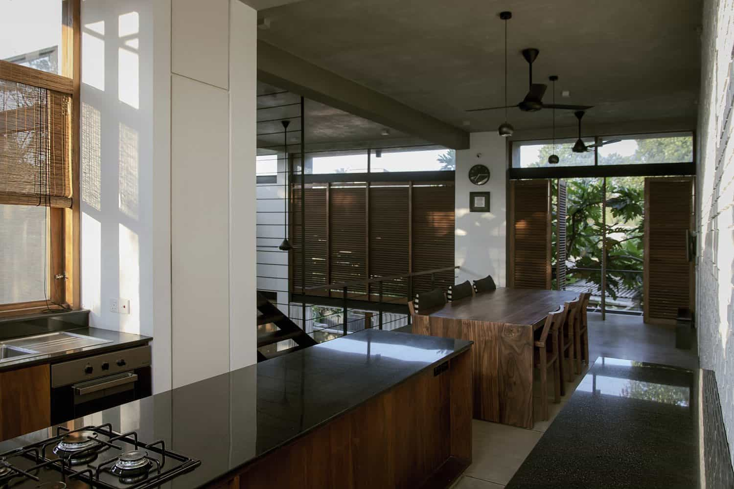Private Residence Designed to Merge with the Developing Sub-Urban Context of the Area