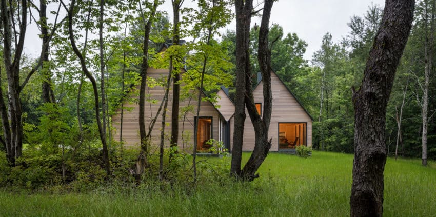 Forest Homes That Are Not Just for Camping