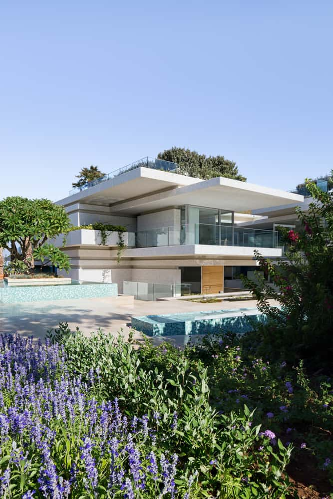 Imposing and Wonderful Villa Surrounded by thick, Green Vegetation