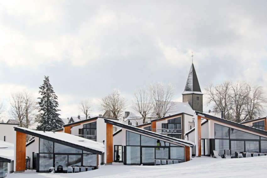 Exceptional ... Snowy Villas View In Gallery ...