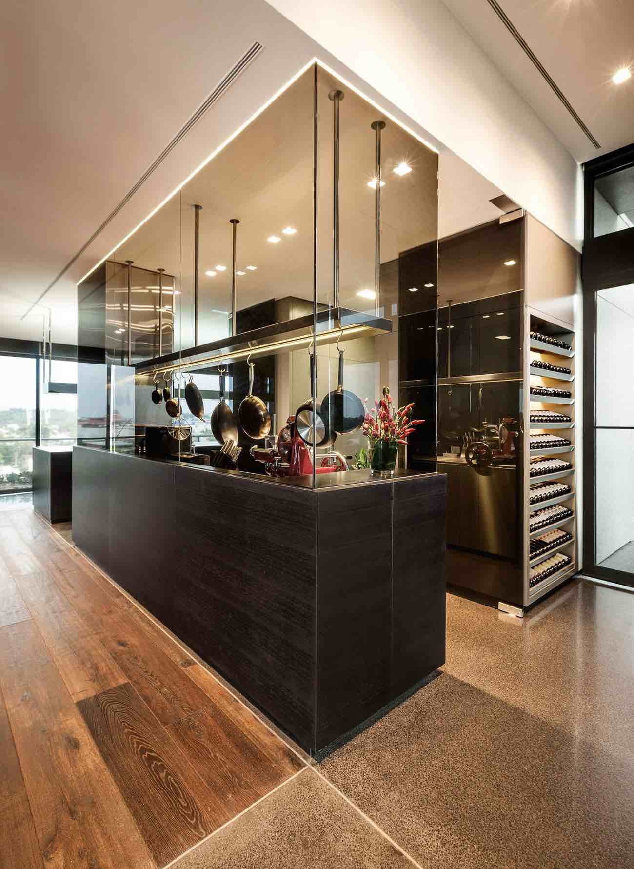 luxurious penthouse with incredible views over the city of m