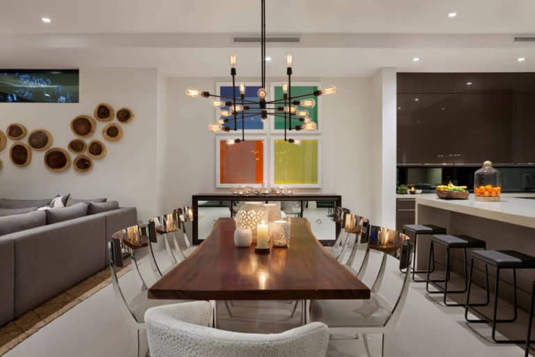 Home In Boca Raton By Marc Michaels Interior Design Dining