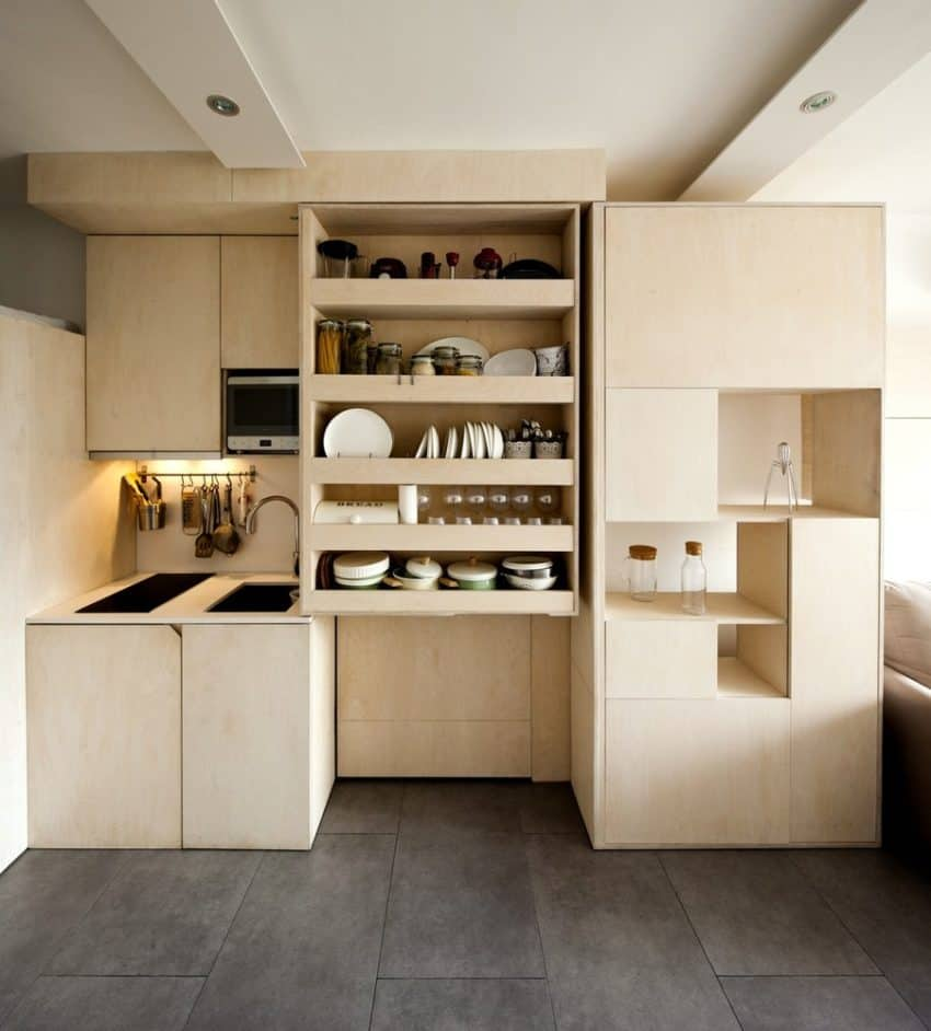 What This Modular System Can Do For This 20 Square Meter Apartment