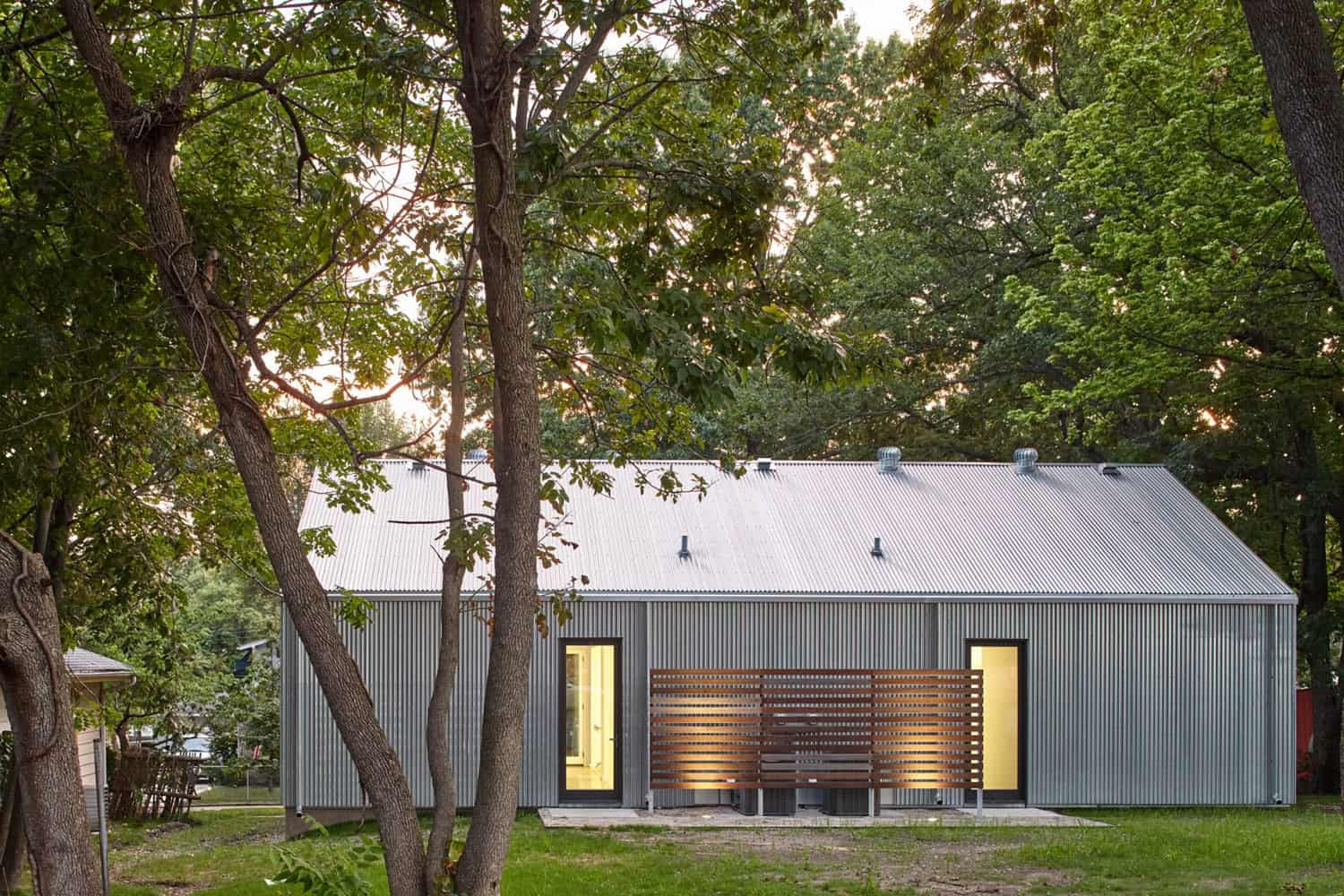 Corrugated Metal Houses Designed By Architecture Students