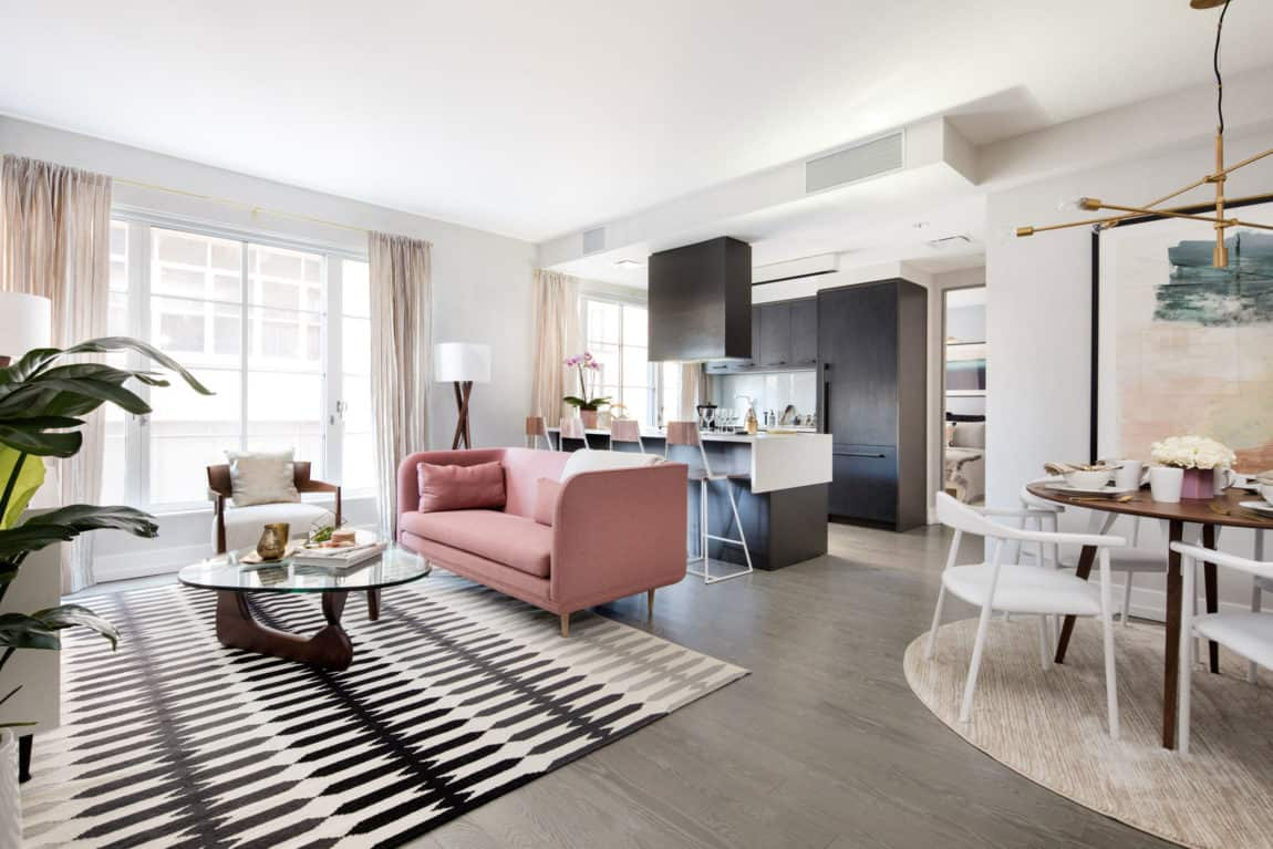 Sophisticated and elegant apartment in the city of new york - Interior decoration new york ...