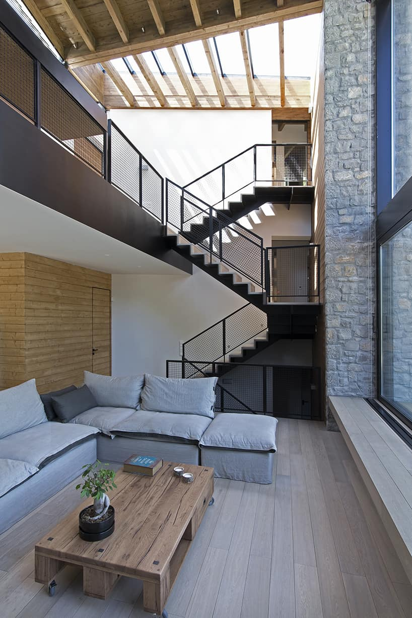 Town house with wonderful interiors
