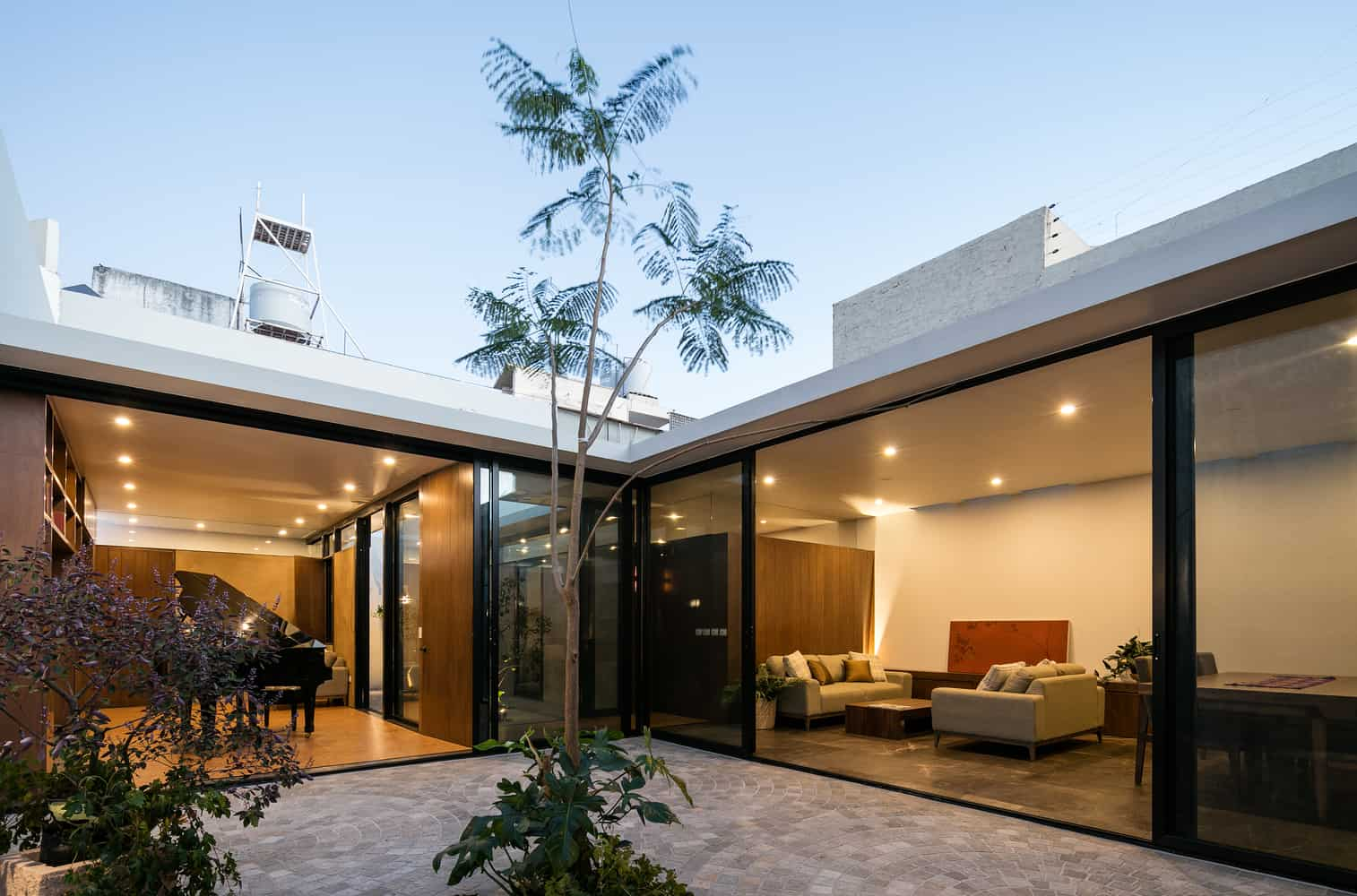 A House Full of Natural Light and Music