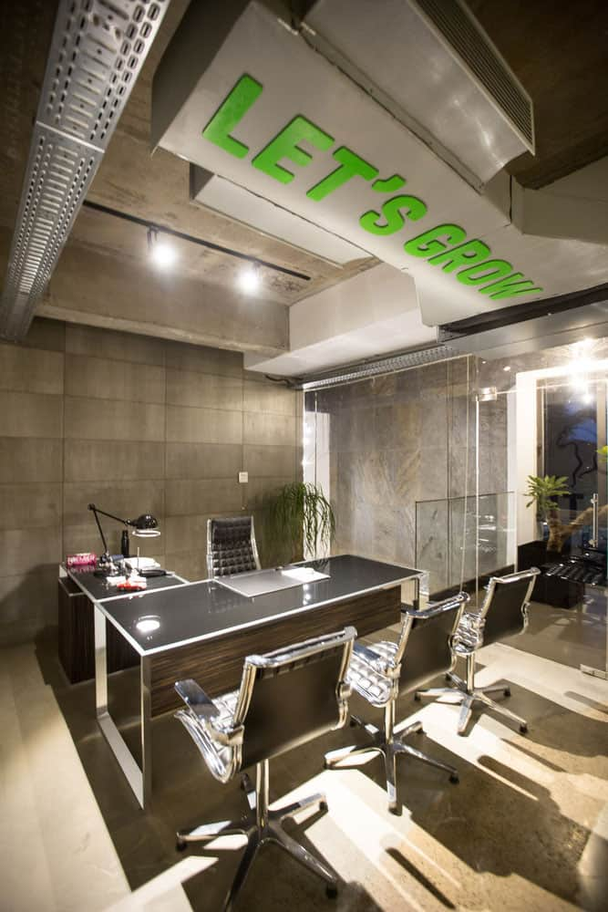 Offices Provide Employees with a Lively Working Environment
