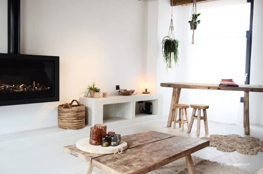 Fantastic Renovation of a Holiday Home that Now Looks Cozy