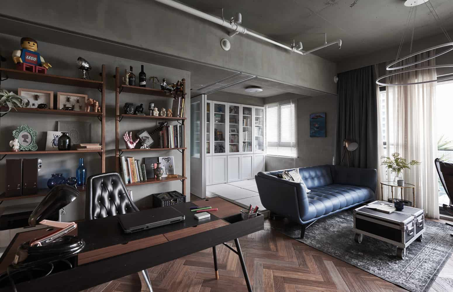 Elegant, Safe and Comfortable Apartment with a Marked Industrial Style