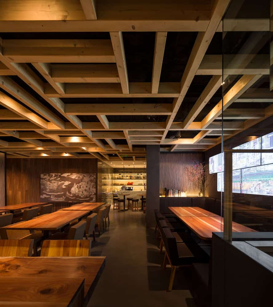 Elegant and Serene Restaurant Pays Homage to Japanese Cuisine