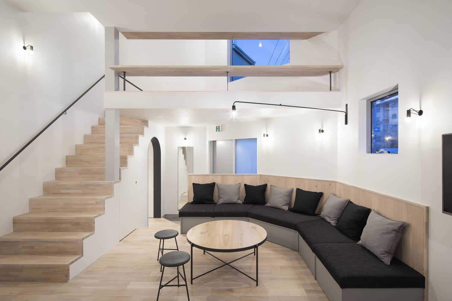 Shared House in the Middle of the City with Open Spaces