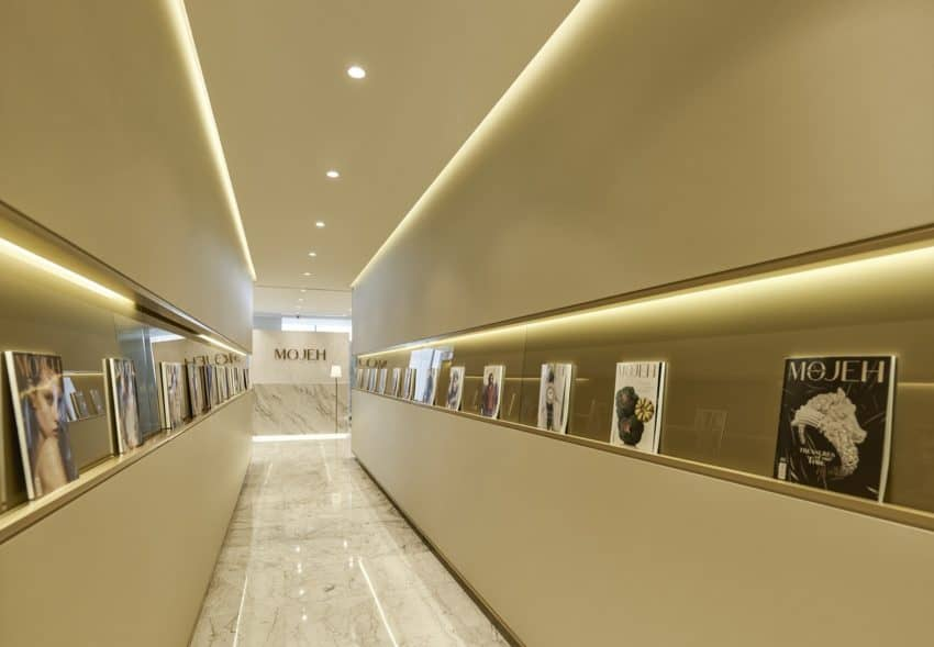 A Modern And Full Of Luxury Offices Which Develops The Creativity Of Its Workers