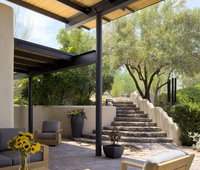 The Architectural Firm Rob Paulus Architects Renovated This Construction In  2012 For A Doctor. Its Size Is Of 4500 Ft2, And Is Located In Tucson,  Arizona, ...