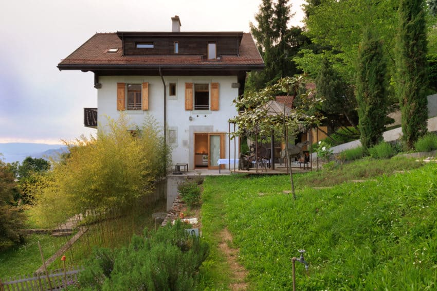 This Modest House Was Built In 1911 With Blocks Of Stones Resulting From  The Excavation Of The Ground For The Railway. It Was Originally Thought To  Be ...