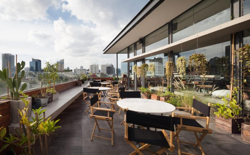 Luxurious and Unique Restaurant in the City of Bangkok, Thailand
