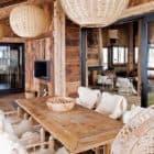 Alpine Cabin dining table