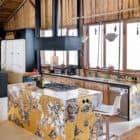 Alpine Cabin kitchen alternate view