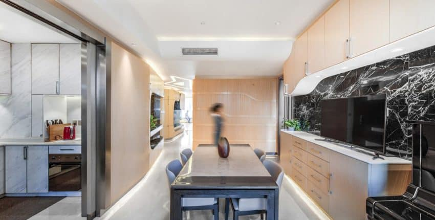 Modern Functional Apartment by Atelier Alter Gives Young Family Style, Comfort, and Fun