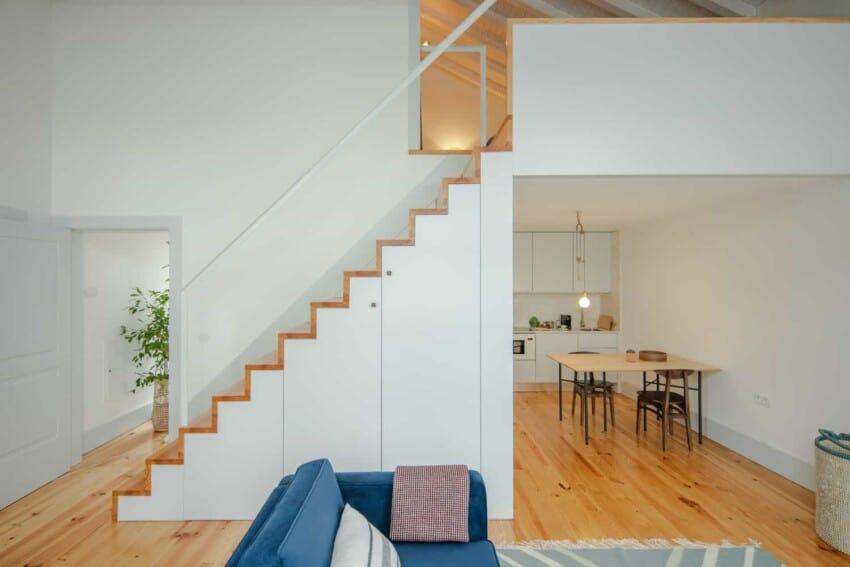 Refurbishment of Sa da Bandeira, A Stunning Portuguese Apartment Building by PF Architecture Studio