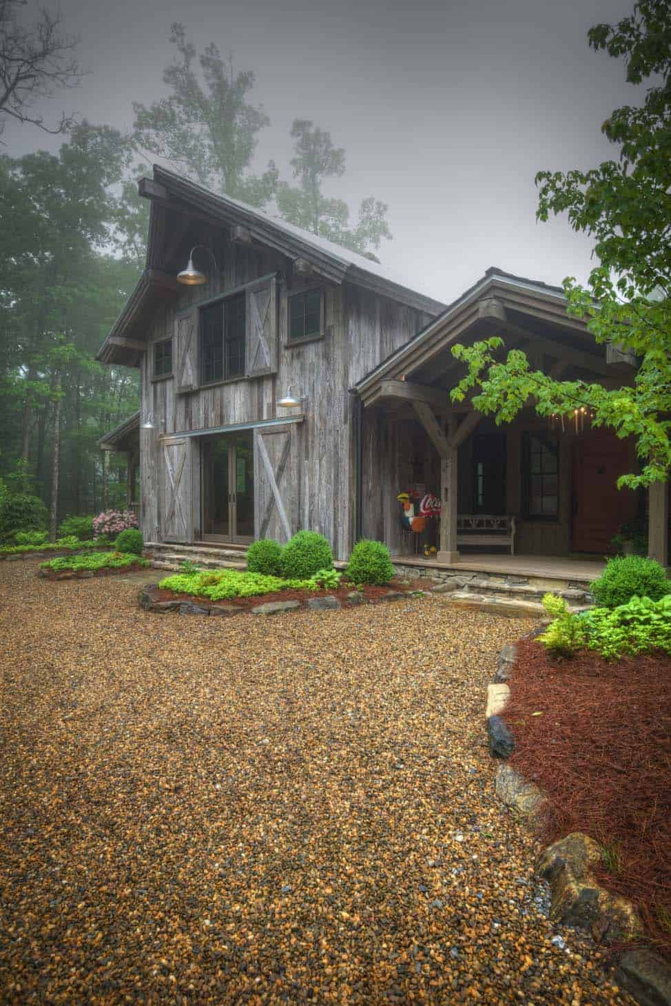 Rustic Barn Transformed Into Gorgeous Timber Frame Barn House By Rmt Architects
