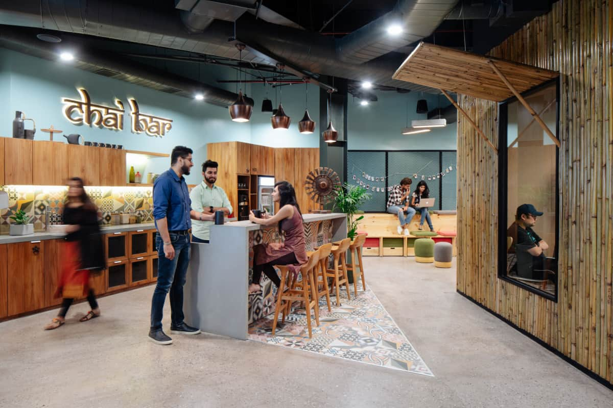 The Indian Airbnb Offices Created By Space Matrix Combine