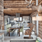 Chalet One Oak dining room