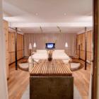 Heinz Julen Loft master bedroom alernate view