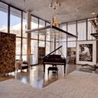 Heinz Julen Loft piano space