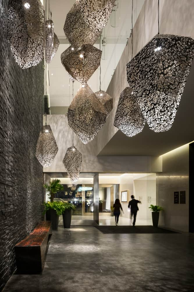 Stunning Hotel Hyatt Regency Andares created by Sordo Madaleno Arquitectos gives you angles and art all throughout