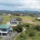 House Usuki aerial distance view