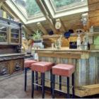 La Ferme du Lac Vert kitchen island