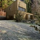 Mountain Hut full exterior view