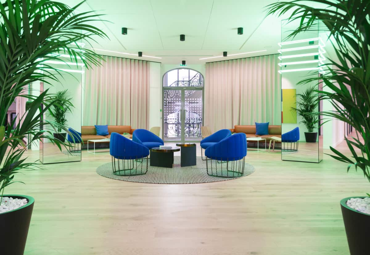 Wework champs Élysées coworking offices created by wework coworking
